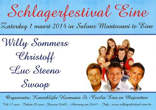 Schlagerfestival 01/03/2014