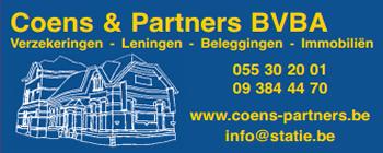 Coens & Partners - Verzekeringen - Leningen - Beleggingen - Immobiliën